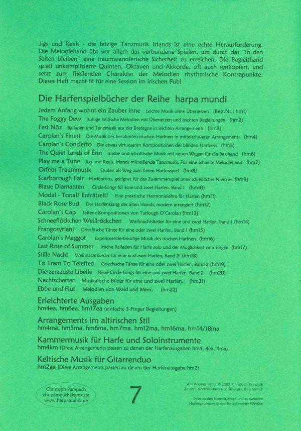 harpa mundi Harfe Play me a tune