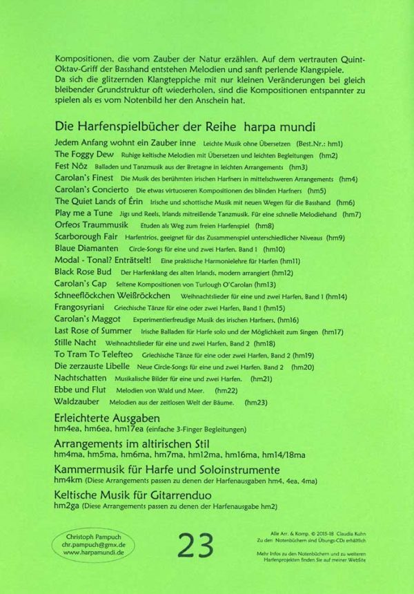 Claudia Kuhn Waldzauber Harfe