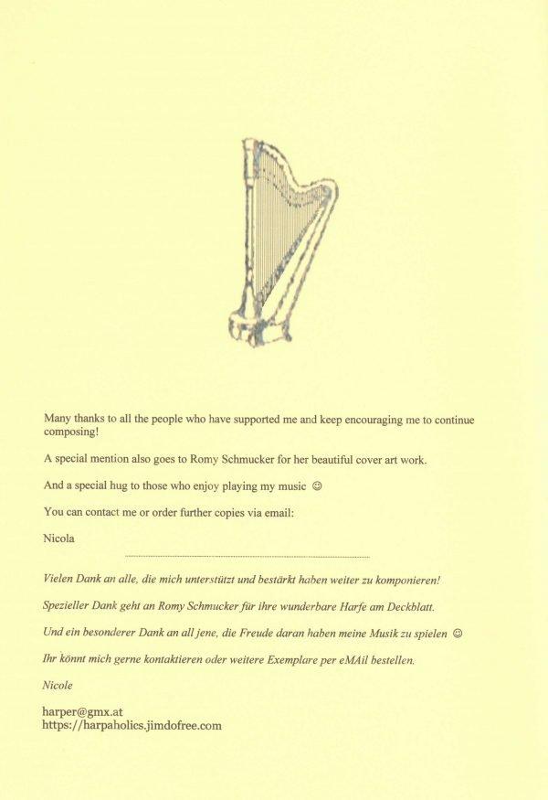 Peniston-Bird Spielend voran 3 Harfe