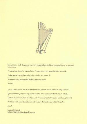 Peniston-Bird Spielend voran 4 Harfe