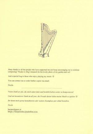 Peniston-Bird Spielend voran 7 Harfe