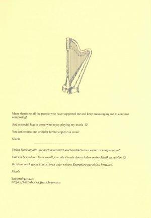 Peniston-Bird Spielend voran 5 Harfe