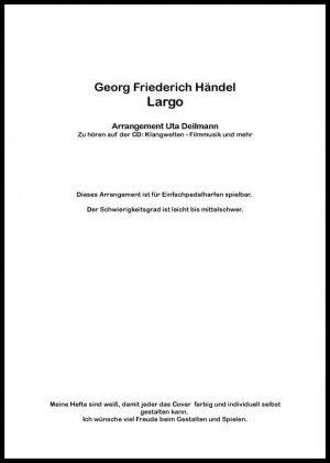 Largo Harfe Händel Uta Deilmann